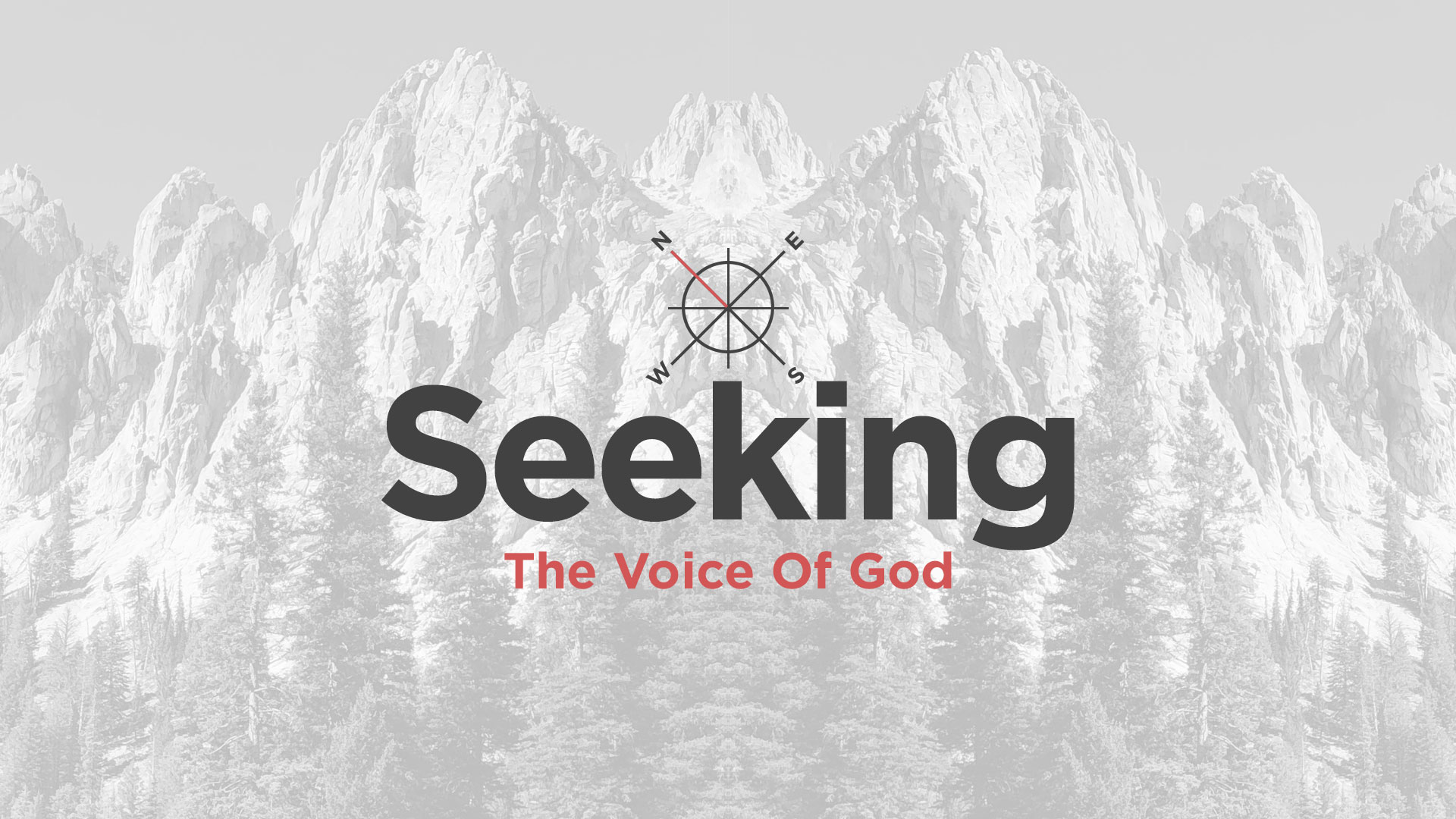 Seeking The Voice Of God